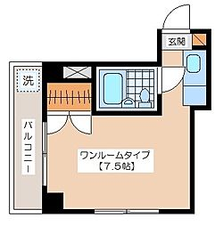 小野崎ビル[3階]の間取り