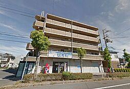 滋賀県野洲市西河原4丁目の賃貸マンションの外観