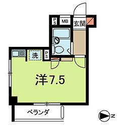 エクセル新高円寺[3階]の間取り