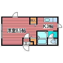 アーバン310[1階]の間取り