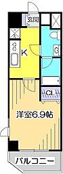 シェ・ルイ[3階]の間取り