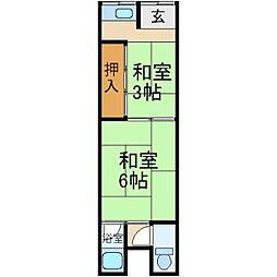 [テラスハウス] 大阪府寝屋川市木屋町 の賃貸【/】の間取り