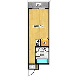 ニューシャトー静[2階]の間取り