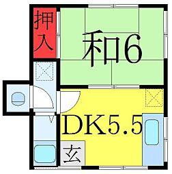 北赤羽駅 5.4万円