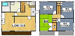 [一戸建] 茨城県日立市久慈町2丁目 の賃貸【/】の間取り