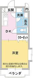 スタジオEG[2階]の間取り