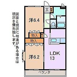 ESPERANCE・I・H&T[3階]の間取り