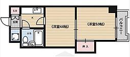 グランドメイソンセブン[3階]の間取り