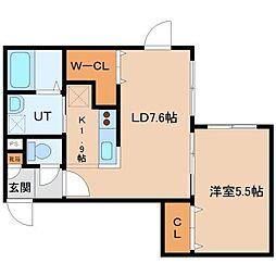 北海道札幌市東区北三十条東14の賃貸マンションの間取り