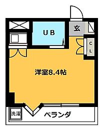 愛知県名古屋市中村区長筬町5丁目の賃貸マンションの間取り