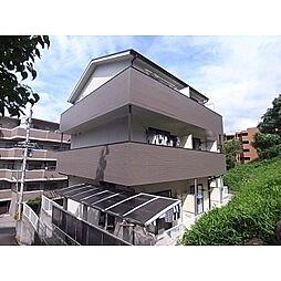 奈良県生駒市仲之町の賃貸アパートの外観