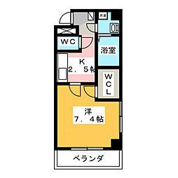 ALOHA COURT[3階]の間取り