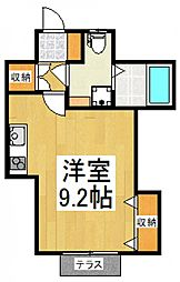 グランツ新小平[1階]の間取り