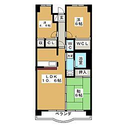ミリリアントシルフ[2階]の間取り