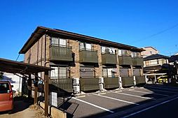 愛知県西尾市永吉1丁目の賃貸アパートの外観