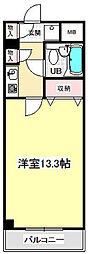 エスポ・アール高松B[304号室]の間取り