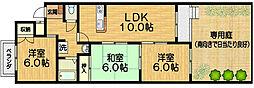 香珠マンション[1階]の間取り