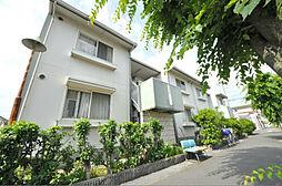 大阪府八尾市中田4丁目の賃貸アパートの外観