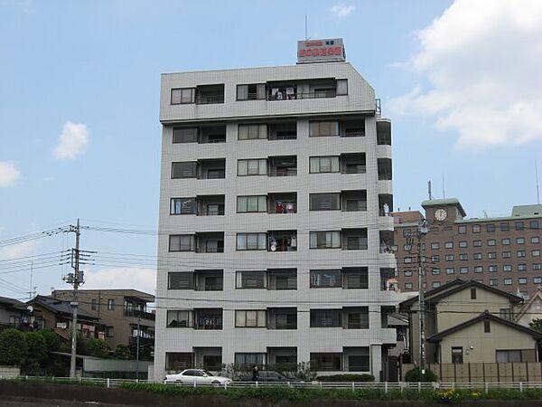 リバーサイド東信[3階]の外観