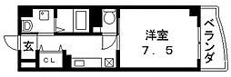 プリムローズ・HY1[503号室号室]の間取り