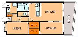 仮称)吉松マンション[103号室]の間取り