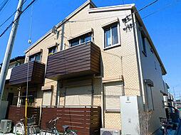 埼玉県蕨市中央2丁目の賃貸アパートの外観