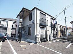 埼玉県川越市霞ケ関東1丁目の賃貸アパートの外観