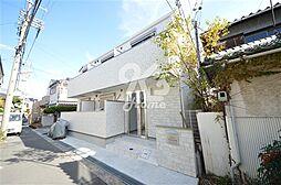 兵庫県神戸市須磨区関守町2丁目の賃貸アパートの外観
