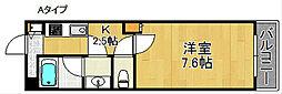 Kアビテ[2階]の間取り
