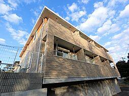 千葉県千葉市稲毛区小仲台4丁目の賃貸アパートの外観