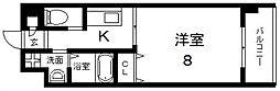 グランドゥーエ永和駅前[806号室号室]の間取り