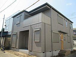 神奈川県川崎市幸区小向西町4丁目の賃貸アパートの外観