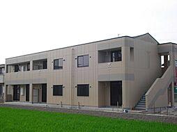 愛知県一宮市大和町毛受字浜田の賃貸アパートの外観