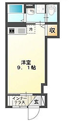三田アパート[1階]の間取り