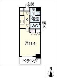 クピットガーデン千代田[3階]の間取り