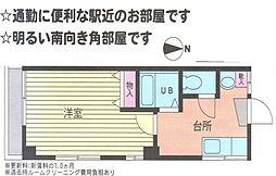 恵峰マンション[305号室]の間取り