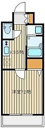 西武池袋線 大泉学園駅 バス12分 北出張所下車 徒歩7分の賃貸マンション 2階1Kの間取り