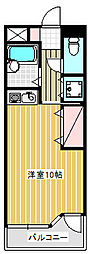 ウインズ藤沢[305号室]の間取り
