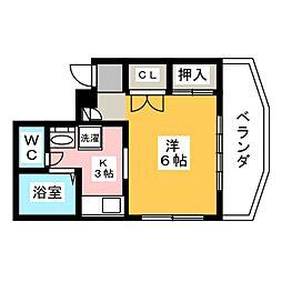 メゾンTOKYO[2階]の間取り