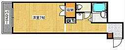 ジュネス田村[3階]の間取り