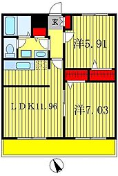 t.m.placeI[1階]の間取り