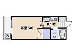 BM-10ビル[1階]の間取り