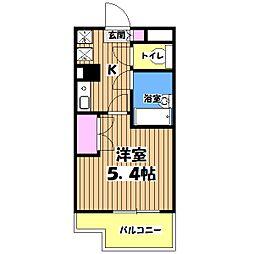 カリスヤマガ[2階]の間取り