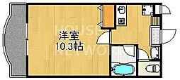 マニセス[103号室号室]の間取り