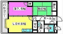 アメニティ12[303号室]の間取り