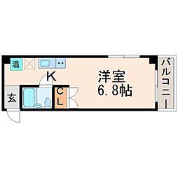 ソミュール甲子園口[4階]の間取り