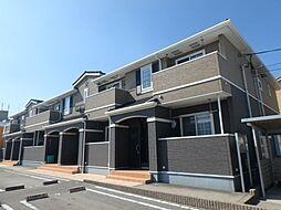 愛知県岡崎市北野町字西河原の賃貸アパートの外観