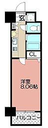 エンクレスト赤坂壱番館(701)[701号室]の間取り