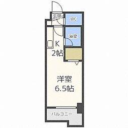 KWビル壱番館[4階]の間取り