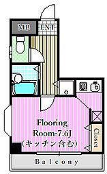 グランパアレ3[3階]の間取り